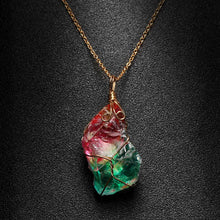 Load image into Gallery viewer, Necklace - Rainbow Crystal Healing Chakra Necklace
