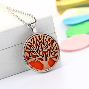 Necklace - Tree Of Life Oil Diffuser Pendant Necklace