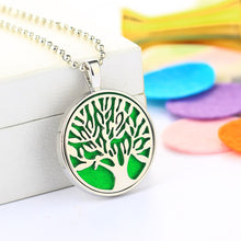 Load image into Gallery viewer, Necklace - Tree Of Life Oil Diffuser Pendant Necklace