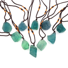 Load image into Gallery viewer, Pendant Necklaces - Natural Green Crystal Healing Necklace