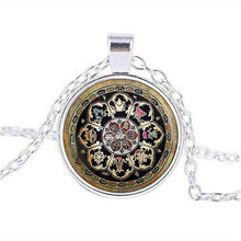 Load image into Gallery viewer, Pendant Necklaces - Sacred Tibetan Buddhist Mandala Necklace