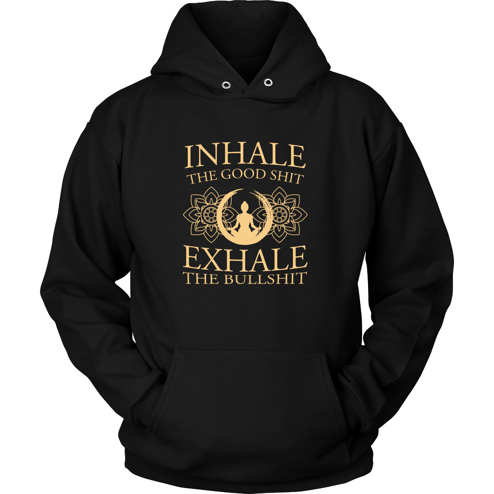 T-shirt - Inhale Exhale Hoodie