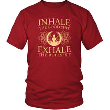 Load image into Gallery viewer, T-shirt - Inhale Exhale Shirt/Tank