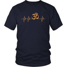 Load image into Gallery viewer, T-shirt - Om Heartbeat Shirt/Tank