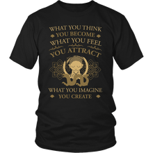 Load image into Gallery viewer, T-shirt - Think, Feel, Imagine Shirt/Tank