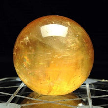 Load image into Gallery viewer, Wealth Magnet & Healing Citrine Crystal Sphere Ball