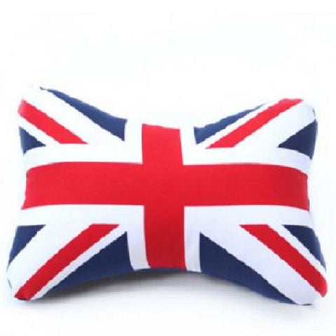Head Rest: UK Flag 2PCS