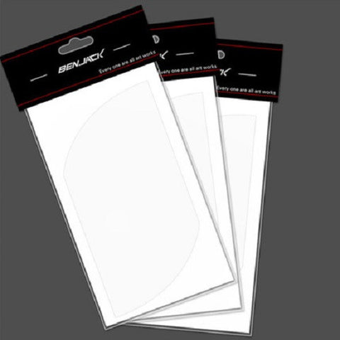 Car Care: Bumper Scratch Protective Clear Film (4PC)