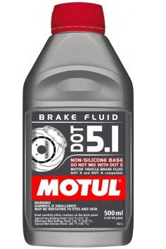 Brake Fluid: MOTUL DOT 5.1 Brake Fluid - 500ml