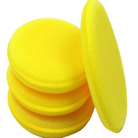 Round Waxing and Polishing Sponge (12 pcs)