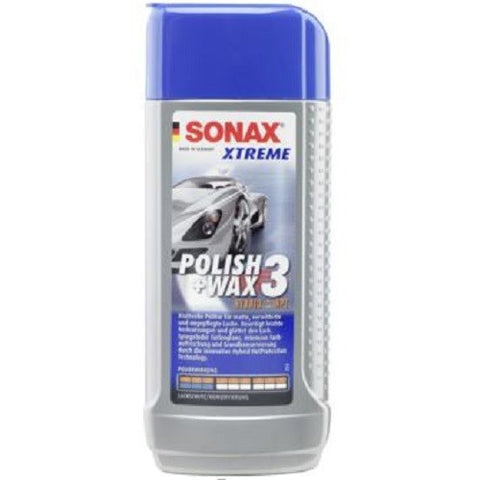 Car Care: Sonax Xtreme Polish & Wax 3