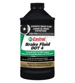 Brake Fluid: Castrol Brake Fluid DOT 4 - 354ml