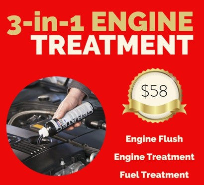 Servicing Package: 3-in-1 Engine Treatment