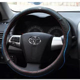 Steering Wheel Cover: KIA steering wheel Leather cover K2 K3 K4 K5 (3 colors)