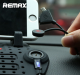 Car Mount: Remax Charging Port Dashboard