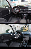 Steering Wheel Cover: BMW Leather Cover (fit for size 37-38cm wheel)