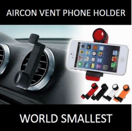 Phone Mount: Aircon Vent