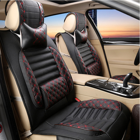 Microfibre Leather Car Seat Cover Set