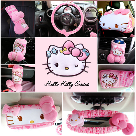 Hello Kitty Car Interior Accessories