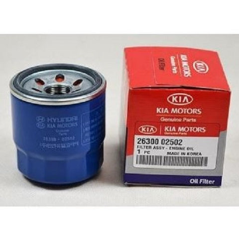 Oil FIlter: Kia 26300 02502 Engine (Kia Picanto and Hyundai Getz)