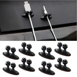 Adhesive Clip: 8PCS Multifunctional, for Cables