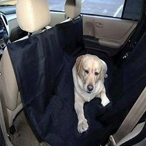 Pet Seat Cover: Back Seat Hammock Cover for Pets
