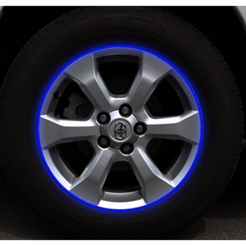Tyre Rim Reflective Decal