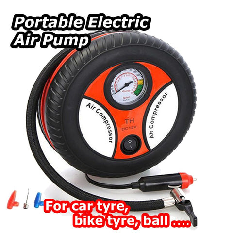 Air Pump: Portable Electric