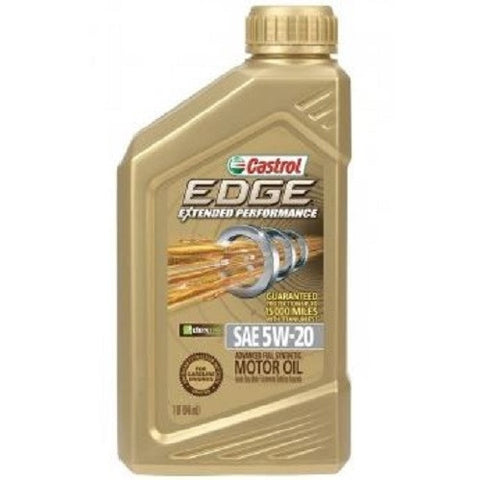 Engine Oil: Castrol EDGE 5W-20 Titanium Extended Performance - 1qt (946ml)