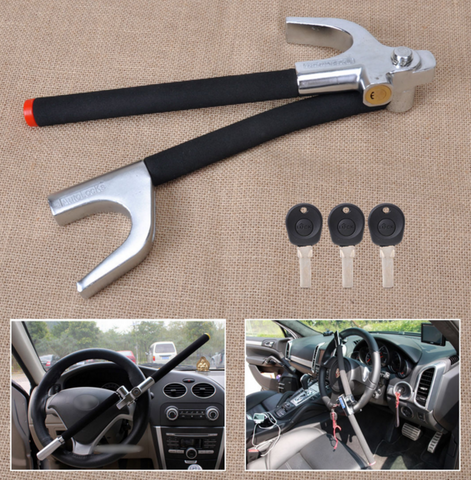 Steering Wheel Lock: Universal Foldable
