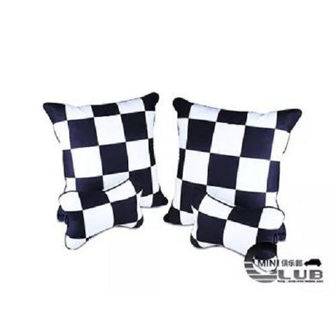 Neck Pillow: Black and white style (2 pcs price)