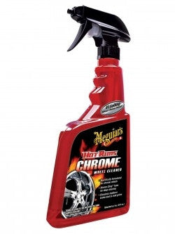 Car Care: Meguiar's® Hot Rims™ Chrome Wheel Cleaner. 24 oz .