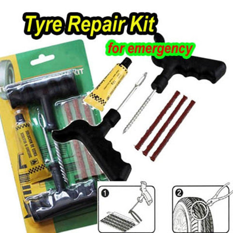 Flat Tire Repair Kit: emergency tire repair