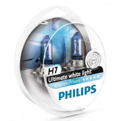Headlight Bulb: PHILIPS Diamond Vision H7 (Twin)