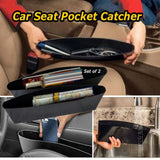 Seat Gap Filler: 2 pocket of Catch Caddy Seat Pocket