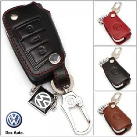 Car Key Pouch: 2015 Volkswagen VW Golf 7 car Key Cover