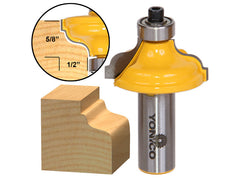 "Ogee Flute Edging and Molding Router Bit - Large - 1/2"" Shank - Yonico 13180"
