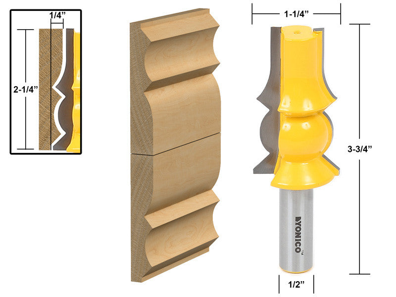 Crown Molding Router Bit Extender - Yonico 16142