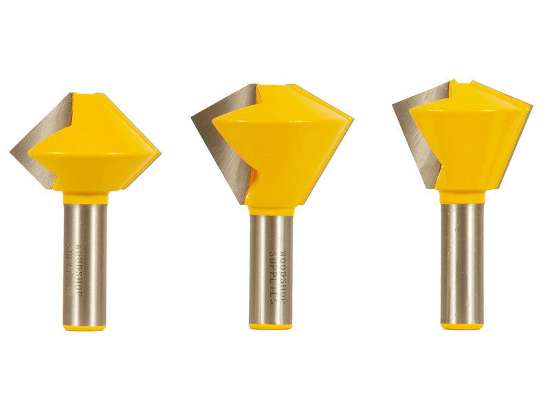 Multi Sided Glue Joint Router Bit Set - 15330
