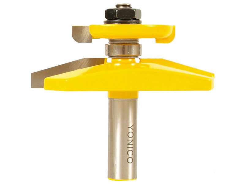 "Bevel Raised Panel Router Bit with Back-cutter - 1/2"" Shank - Yonico 12149"