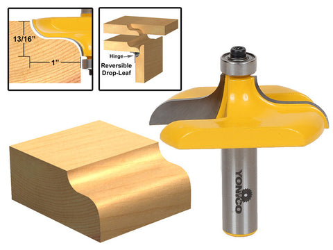 "Traditional Table Edge Router Bit - 1/2"" Shank - Yonico 13145"
