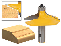 "Molding and Edging Router Bit - Classical Ogee -  1/2"" Shank - Yonico 13127"