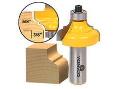 "Classical Ogee Edging and Molding Router Bit Medium - 1/2"" Shank - Yonico 13185"