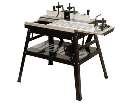 Ultimate Heavy Duty Router Table Workstation with Sliding Top - Yonico 21052