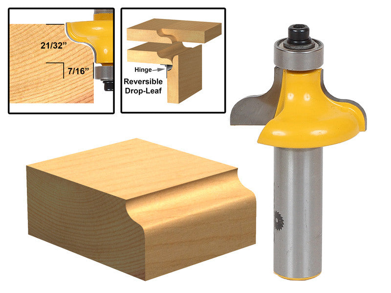 Table Edge Router Bit - Wavy -  13147