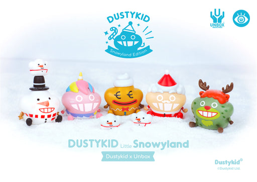 [Figure] 【Dustykid X Unbox】Little Snowyland盲盒玩偶套裝