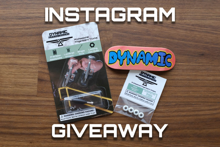 Instagram giveaway for a full setup! #dynamicfb30k