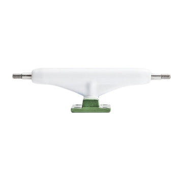 Dynamic Trucks - 34mm White Hanger Dark Green Baseplate