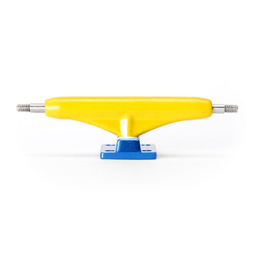 Dynamic Trucks - 34mm Yellow Hanger Blue Baseplate