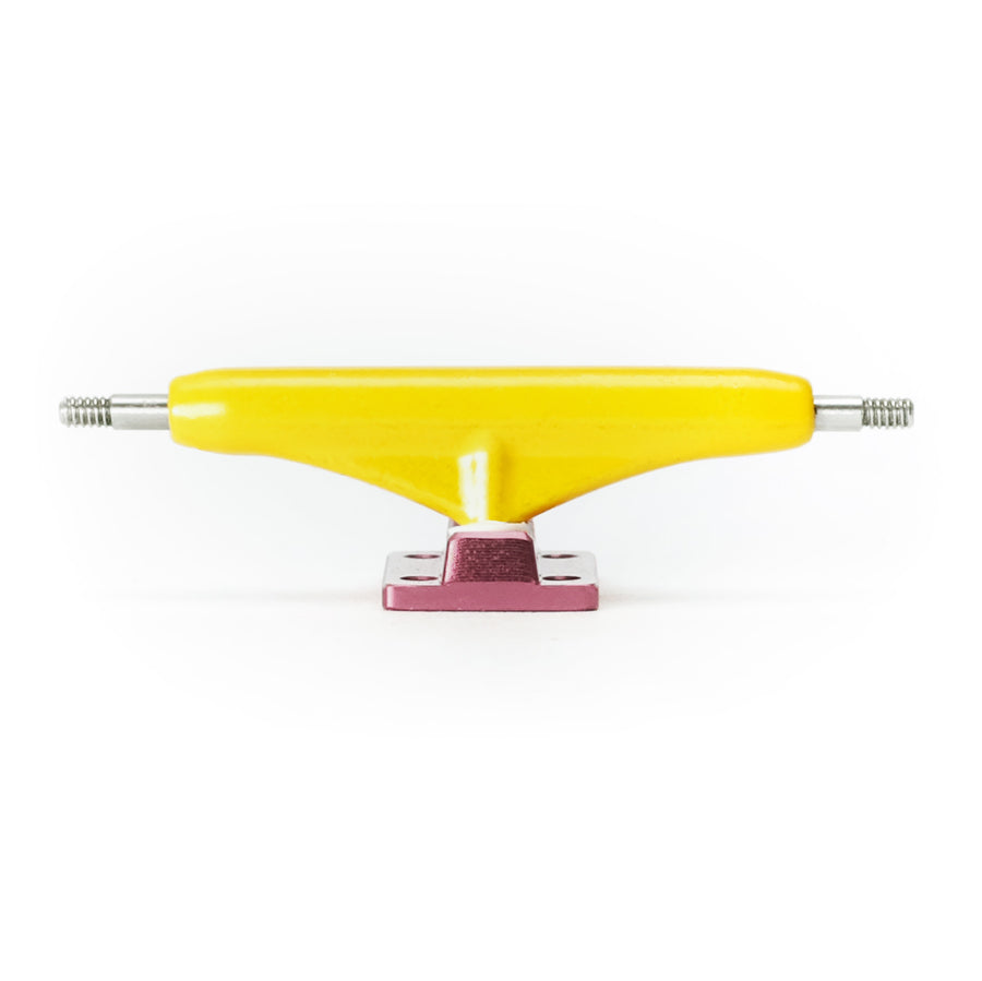 Dynamic Trucks - 34mm Yellow Hanger Pink Baseplate